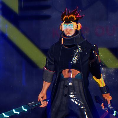 D - Cyberpunk