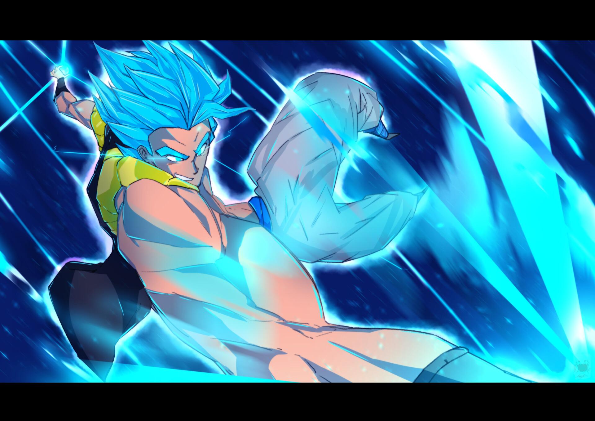 Leon Lara Gogeta Blue Dragon Ball Super Broly