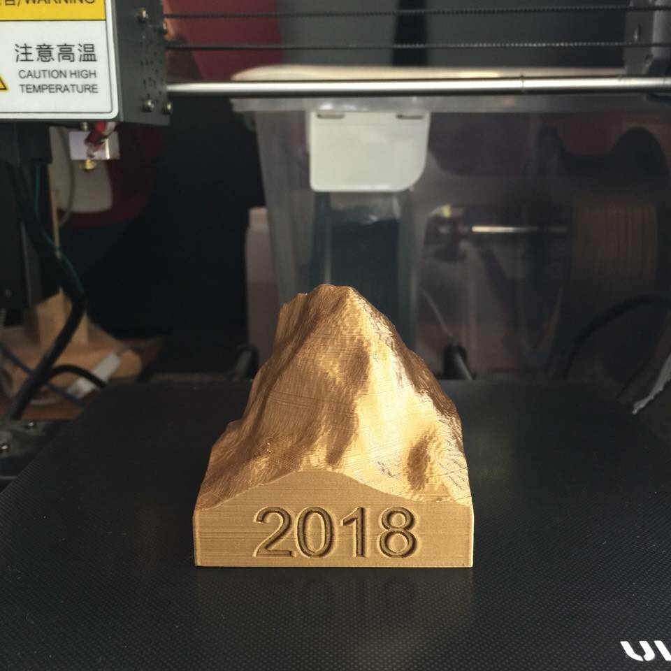 Caine lanigan mount cooroora 3d print small 04