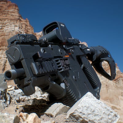 Reno levi lonewolf3d kriss vector 01