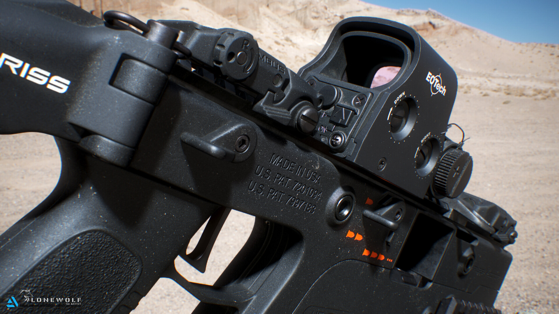 Reno levi lonewolf3d kriss vector 04