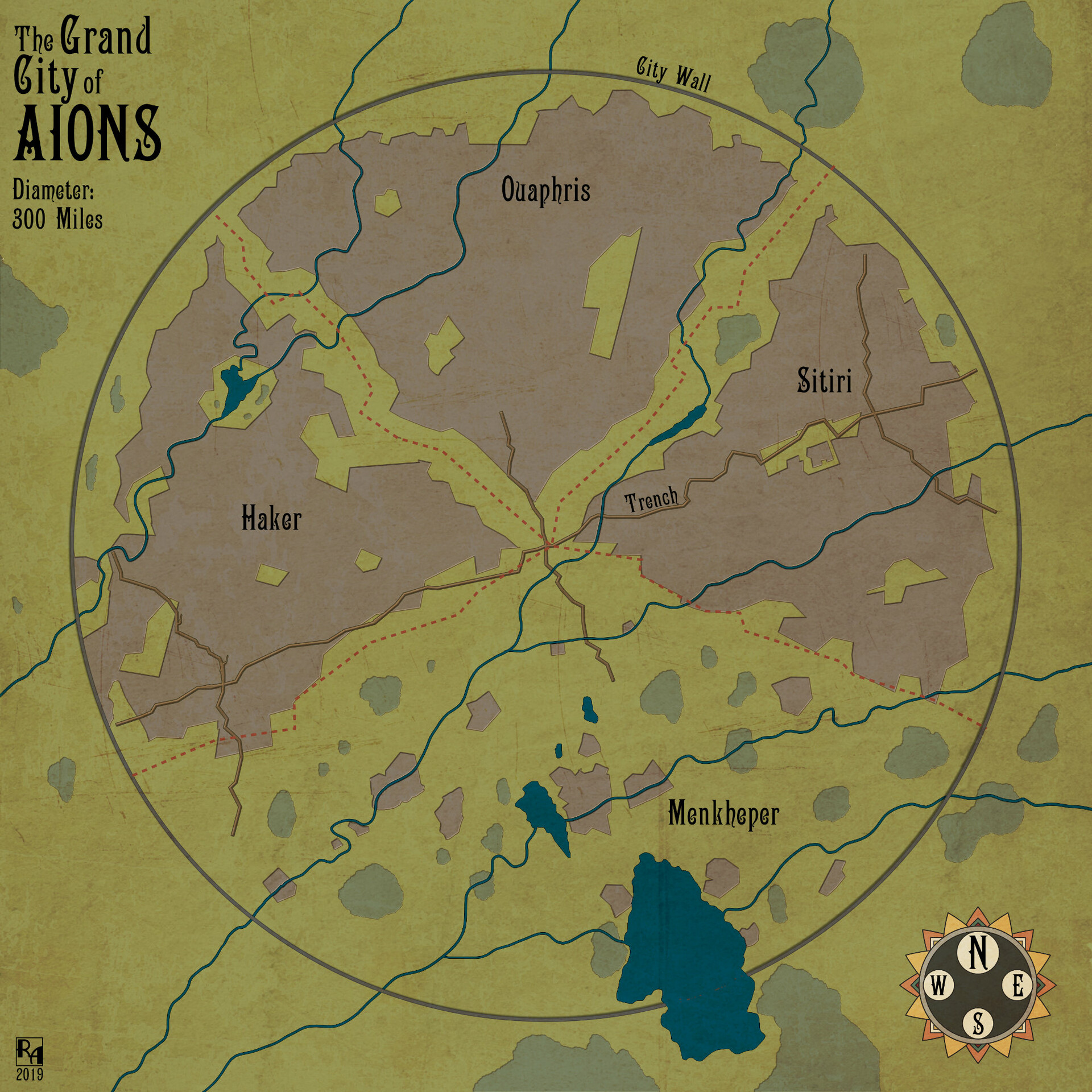 The Grand City of Aions - Overwiew