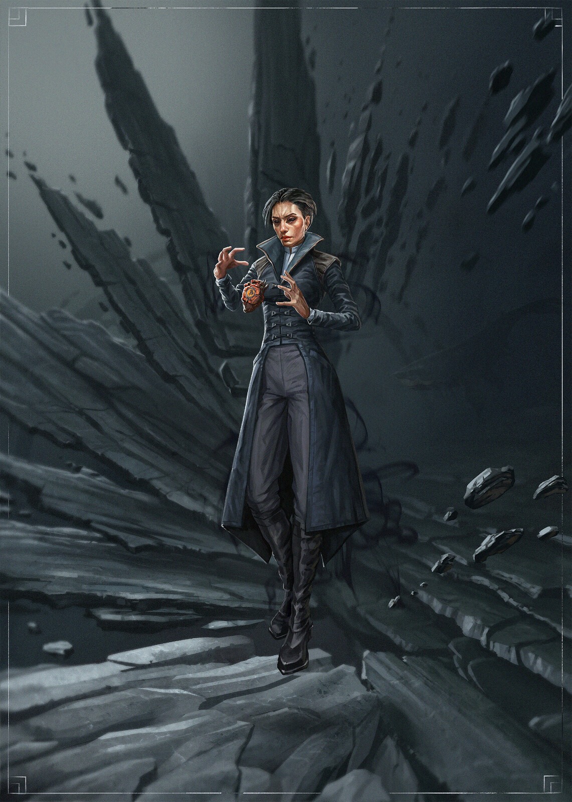 The Outsider reskin and animation (FanArt)