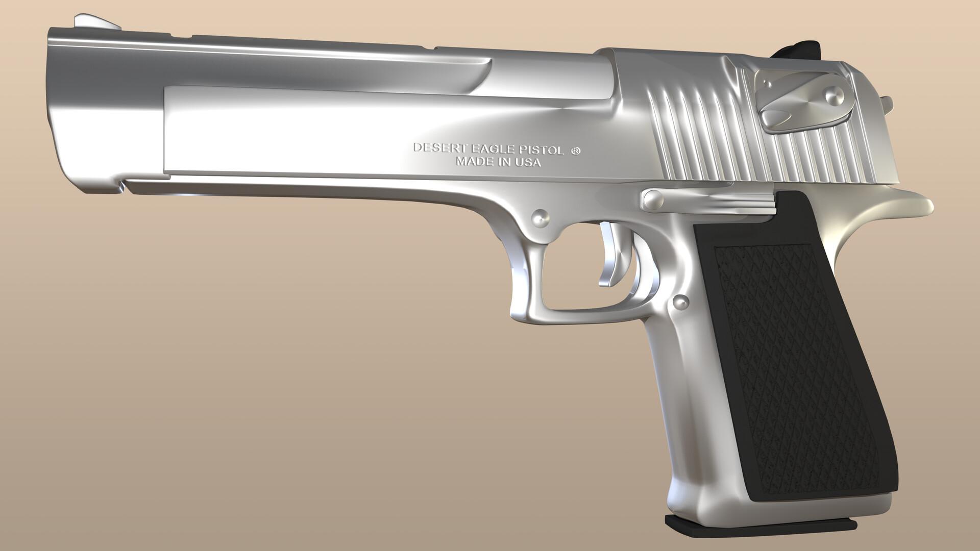 Final render of model