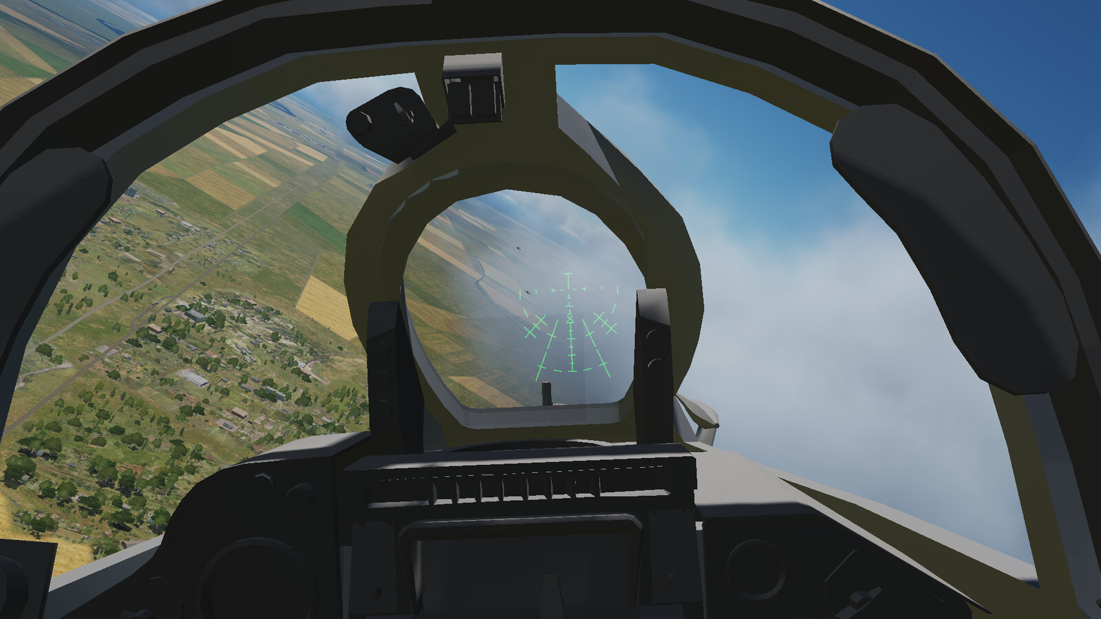 Testing weapons in a dogfight scenario against Hawks. (Don't ask for the backstory on why.)