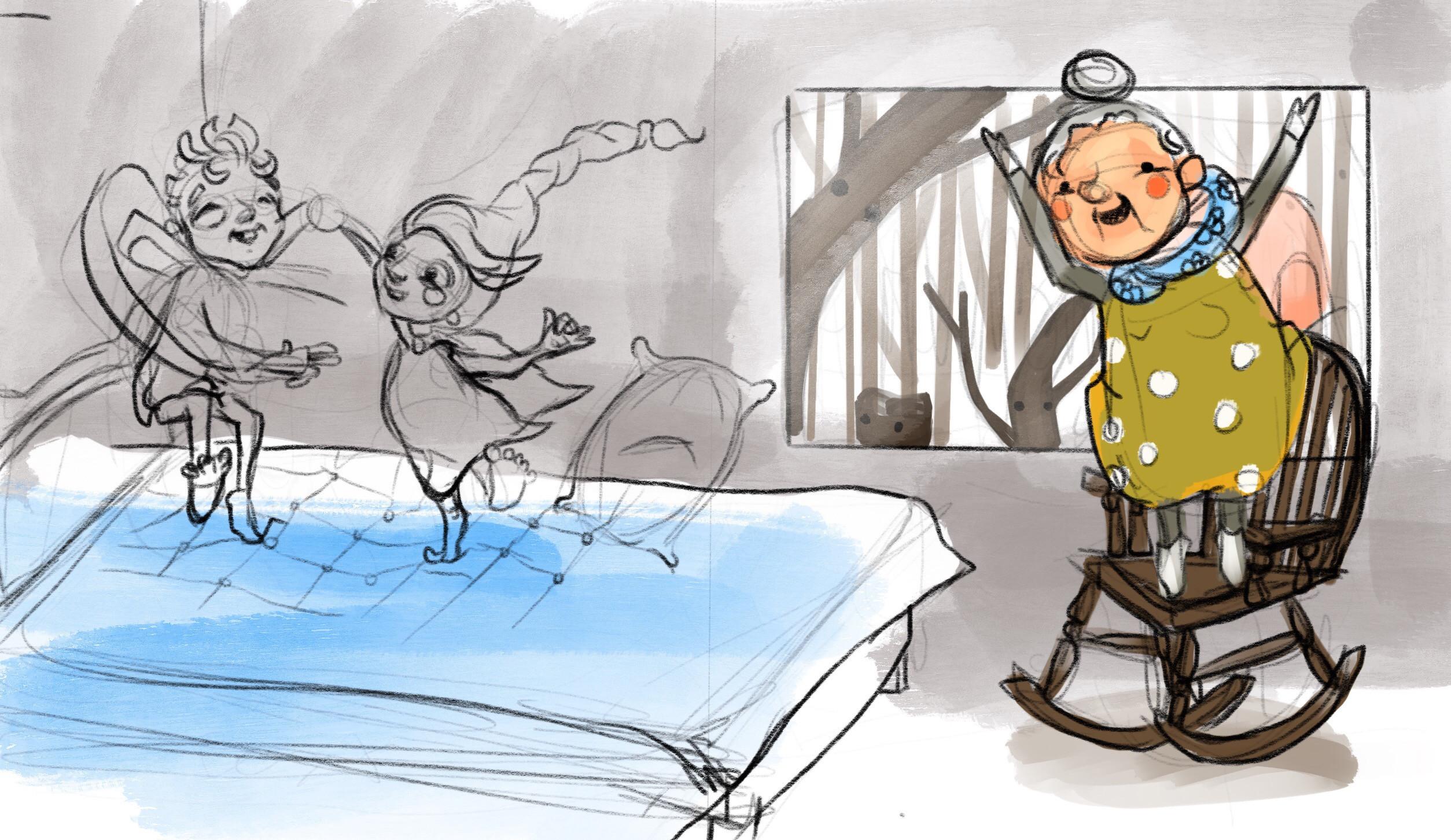 Rough Sketch -Storyboard