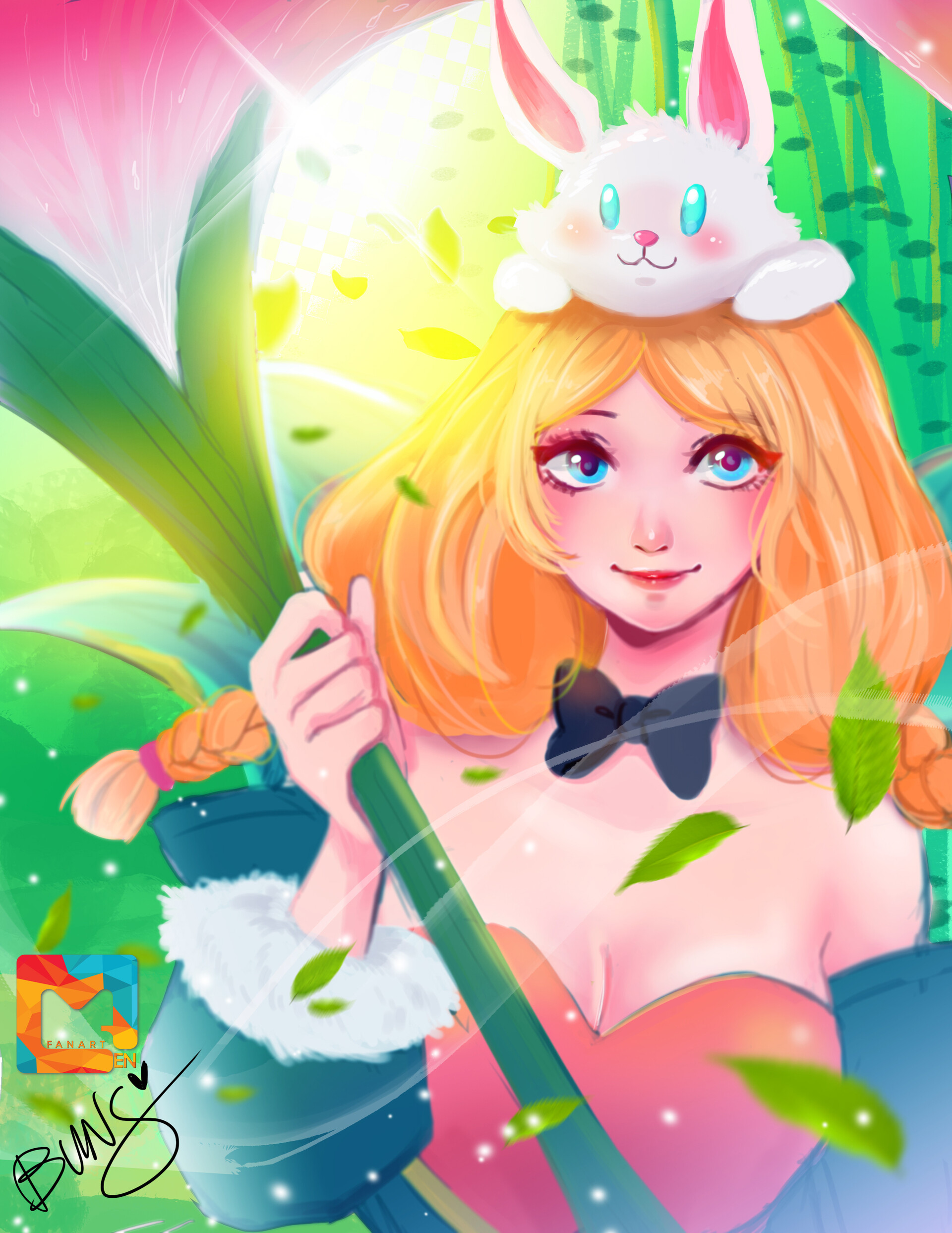Artstation Rafaela Mobile Legends Buns Arts