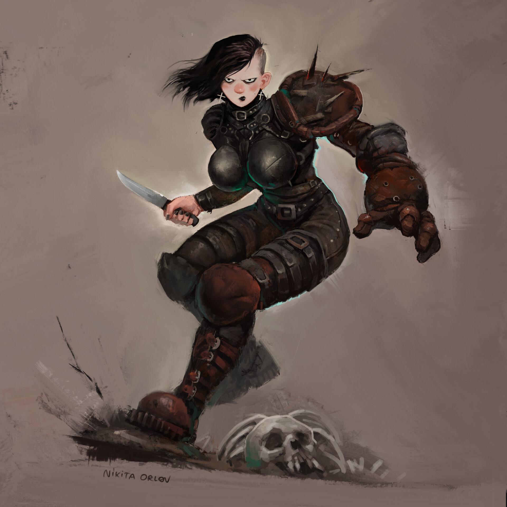 Nikita orlov battlegirls elvira