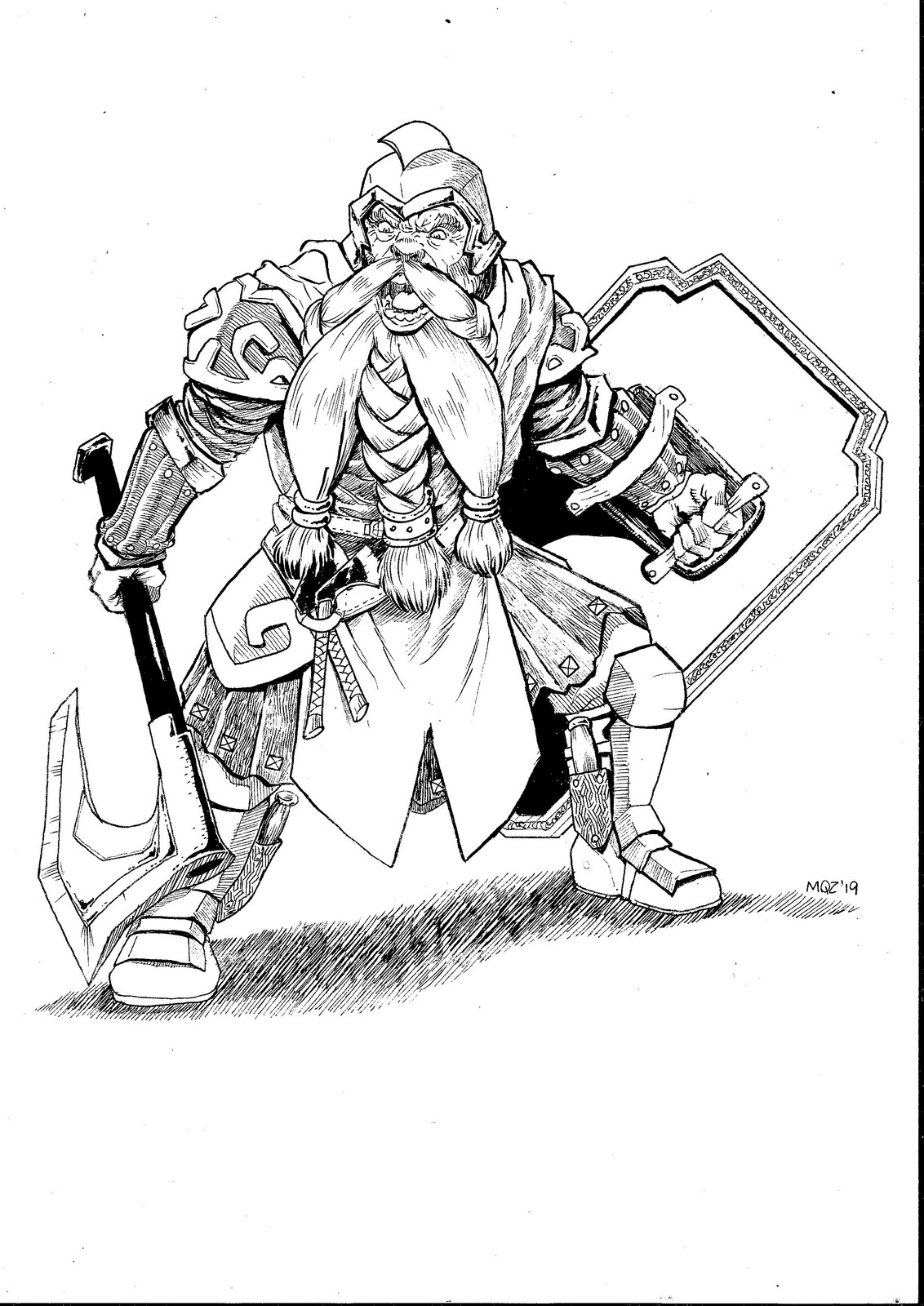 Qhorin, the dwarf lord