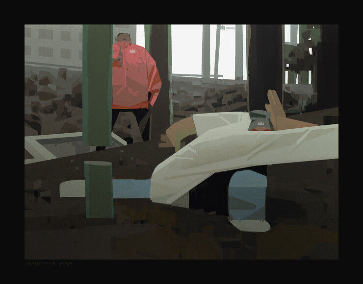 Sergey kolesov backyard yoga