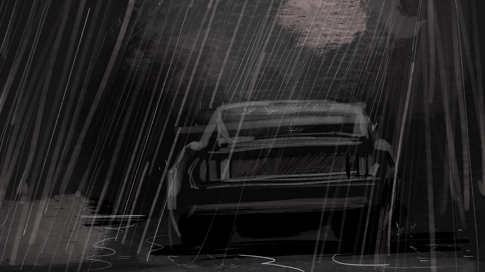 "Storyboard for music Video ""Night Drive"""