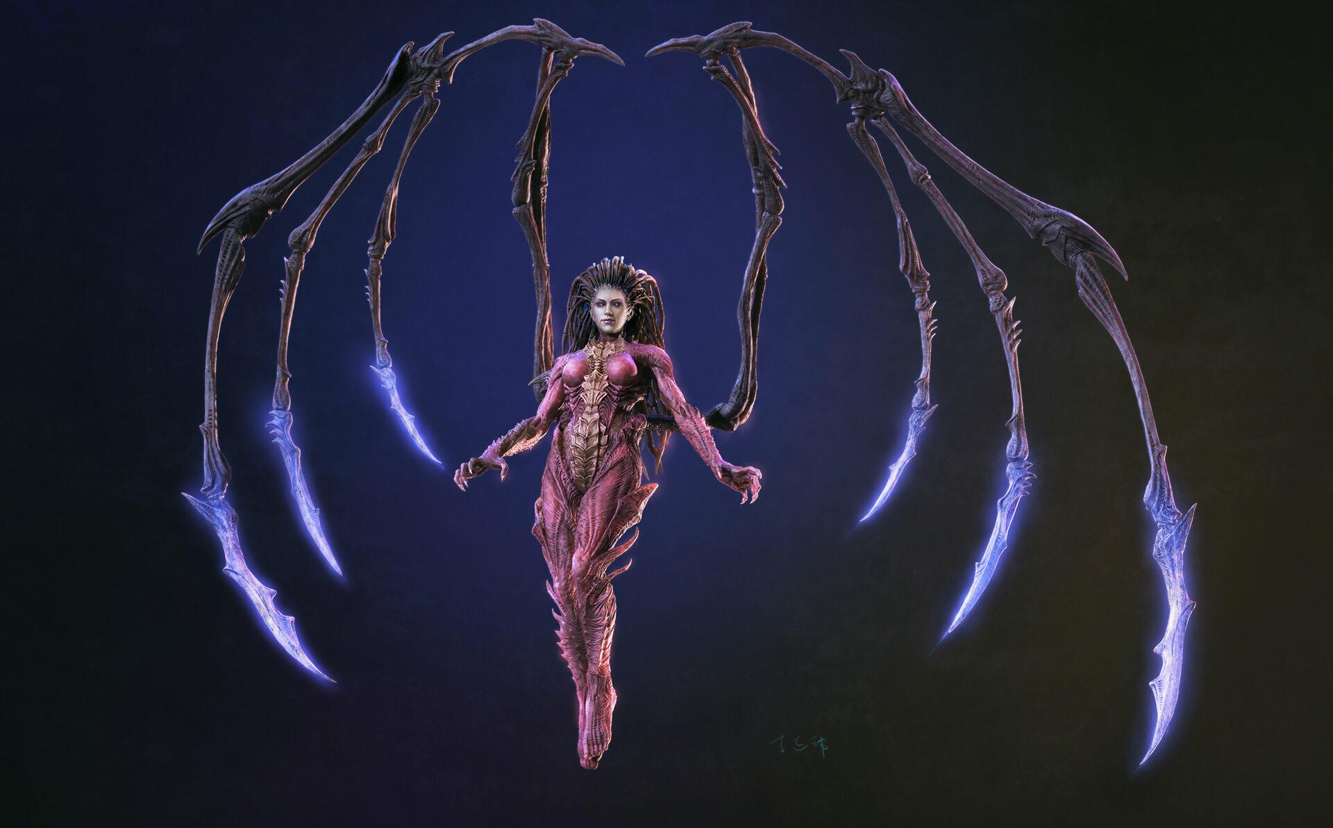 Картинка королева клинков феникс