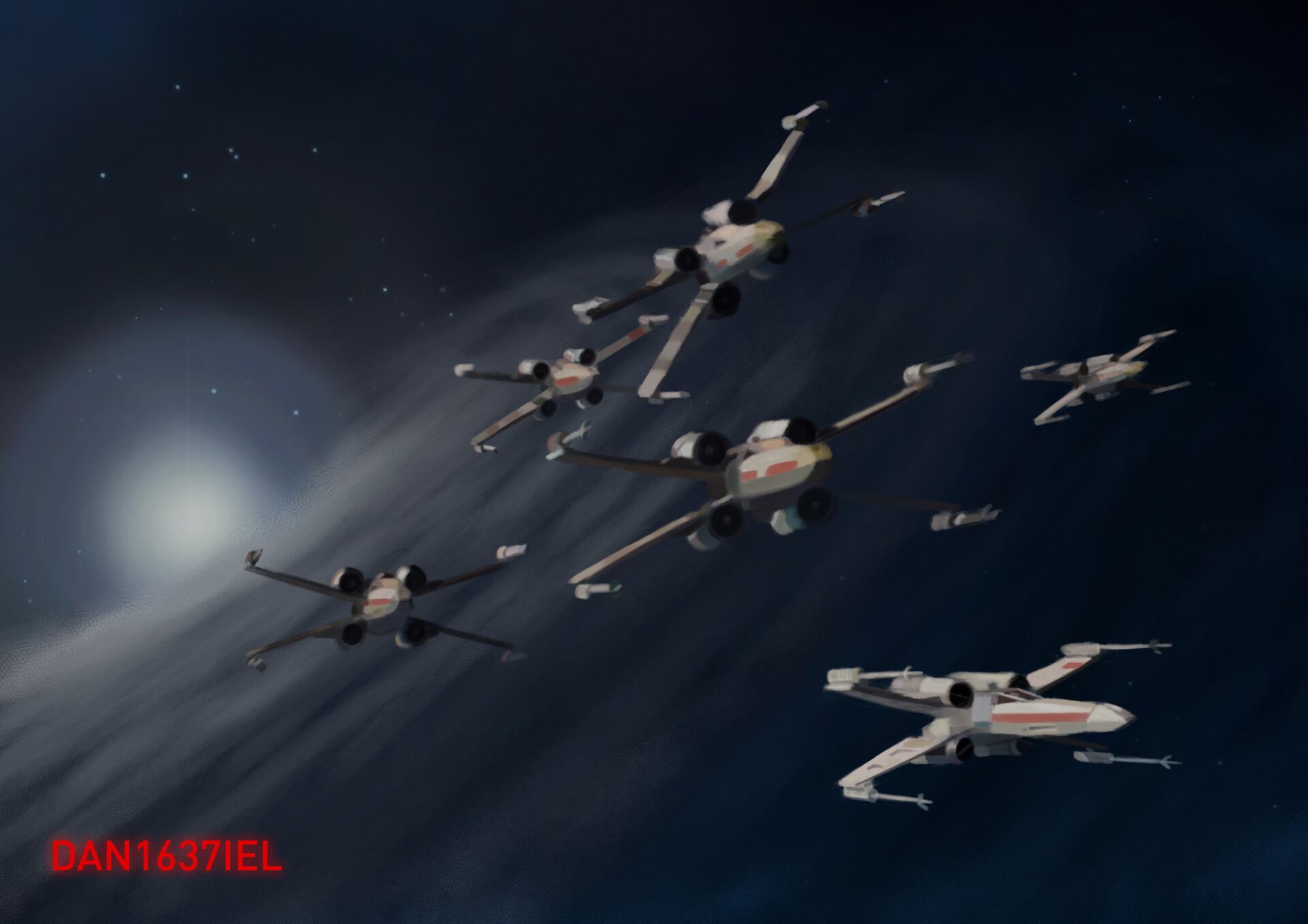 ArtStation - Rogue Squadron, Daniel Popov