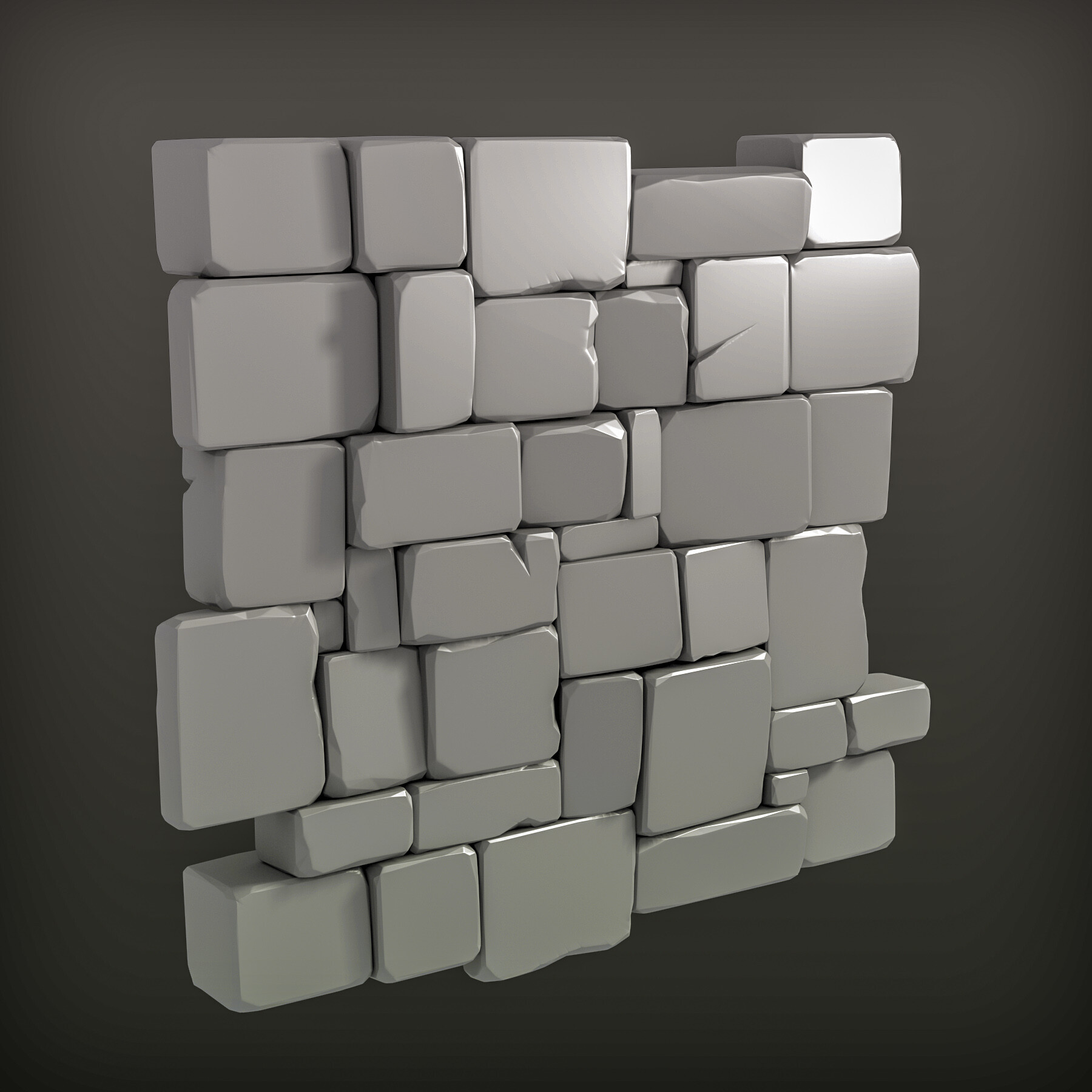 Martin teichmann stone wall render a