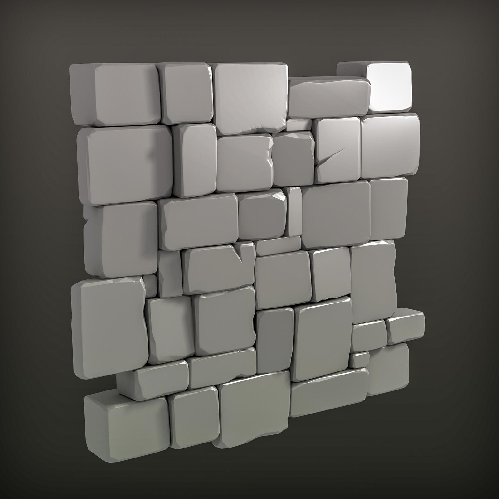 hipoly wall