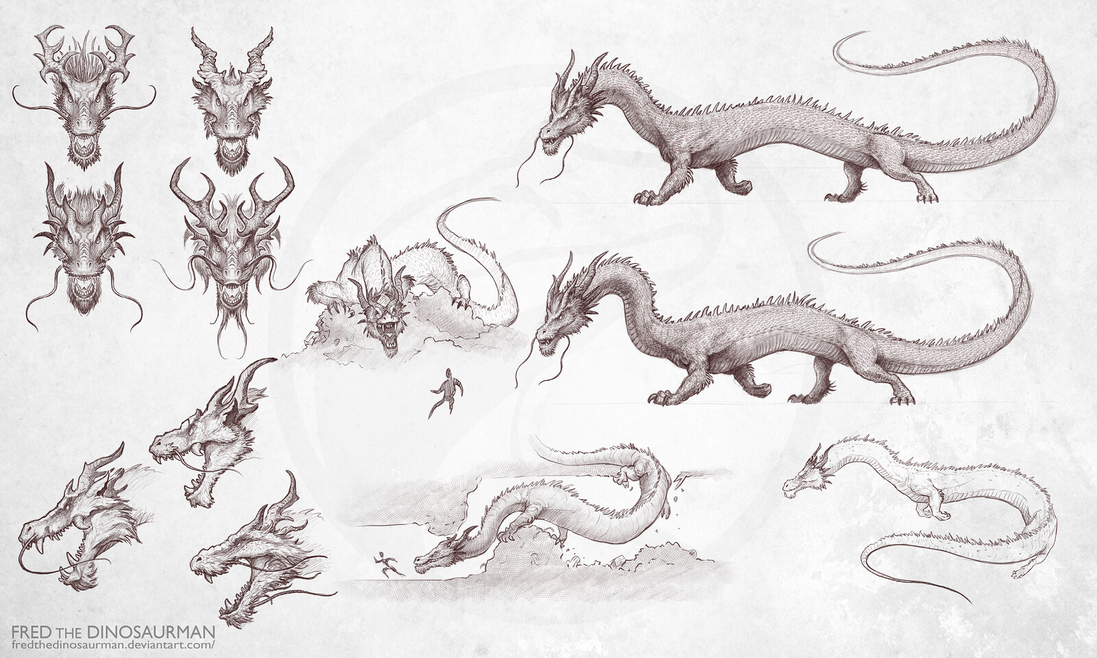 Concept Sketches with Varying Design Choices