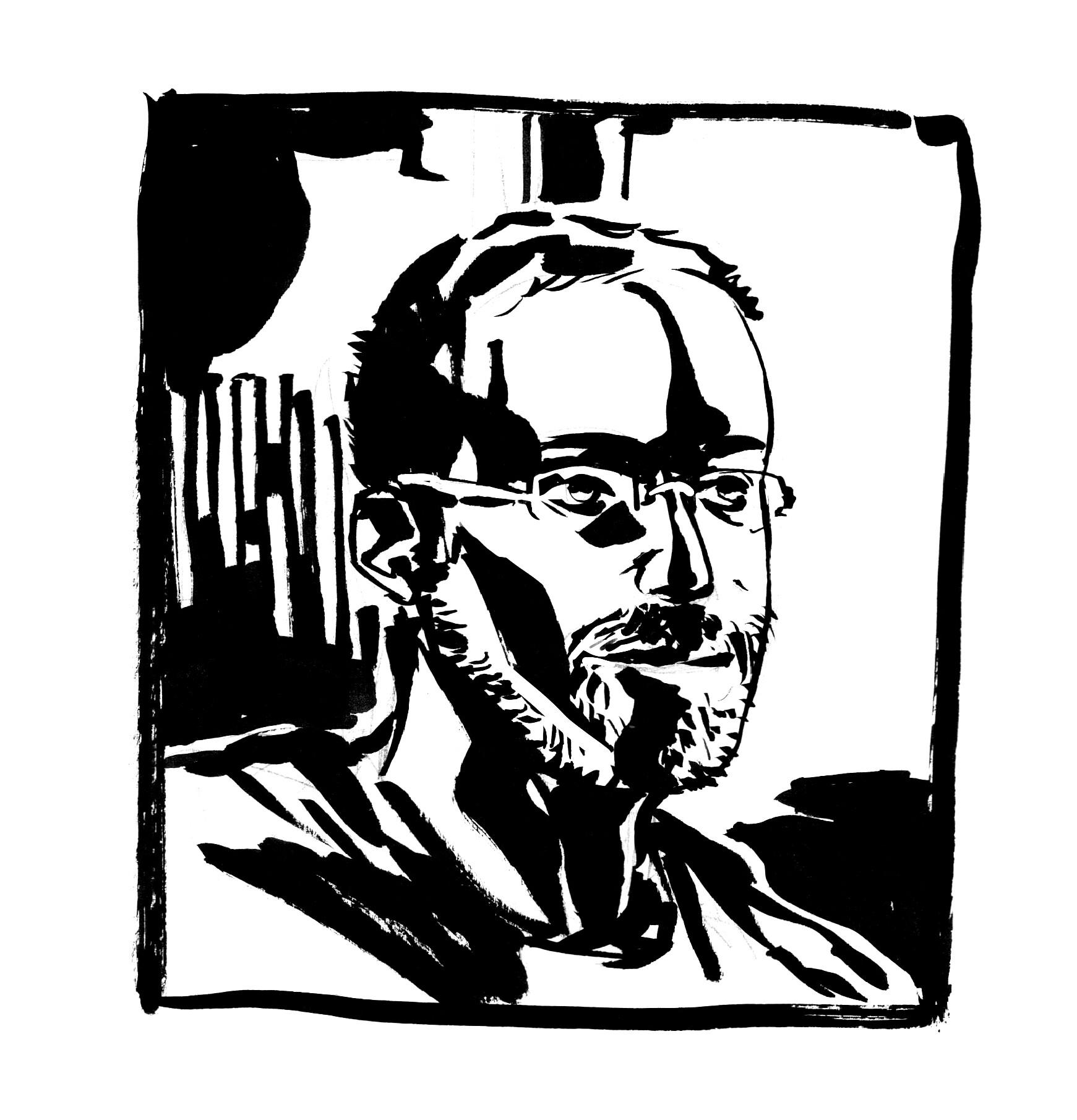 Bonus - friend drawn from memory