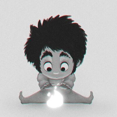 Arjun somasekharan caveman kid