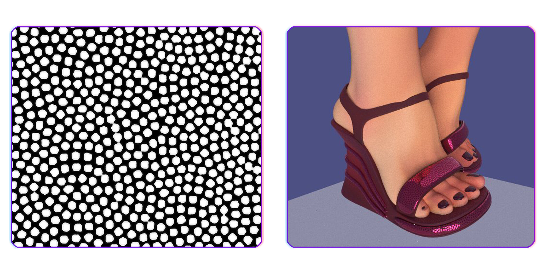 Shoe texturing