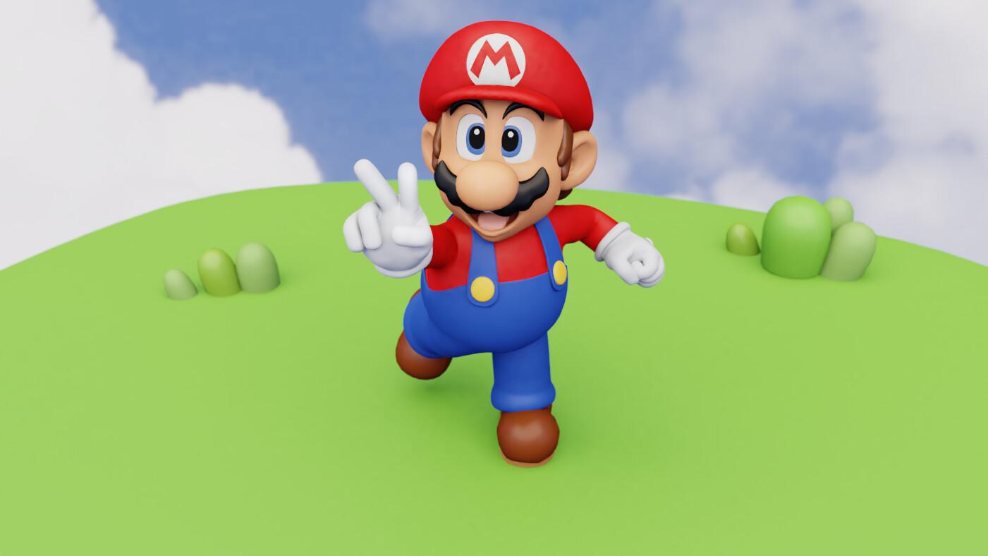 Brody Smith - Super Mario 64 Model Remake