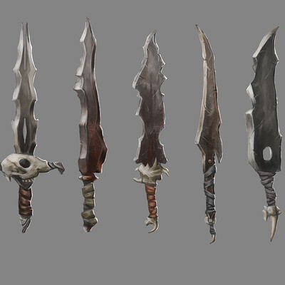Barbarian Sword Designs