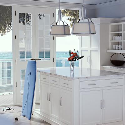 Kitchen Design & Modeling