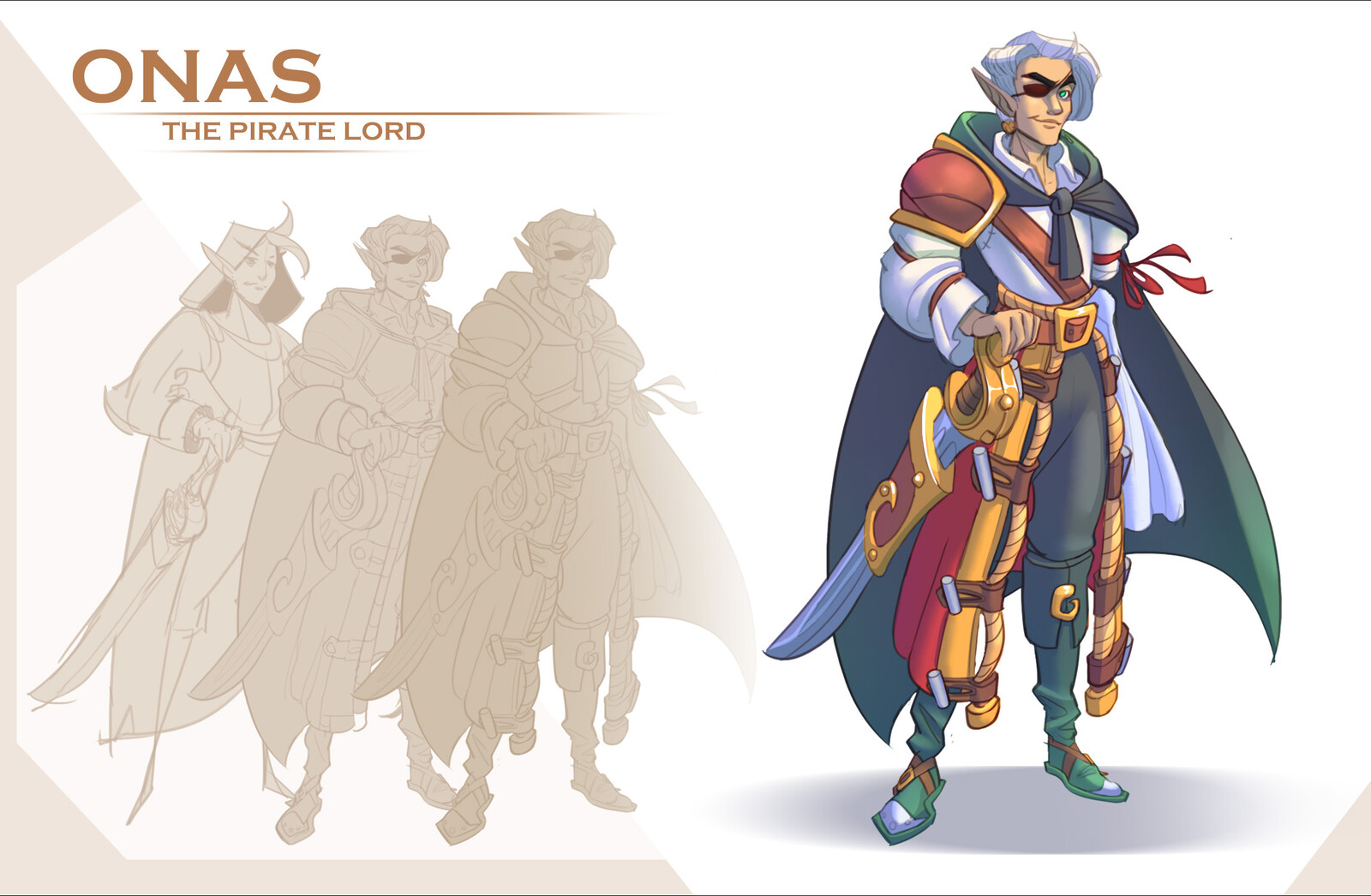 Onas The Pirate Lord