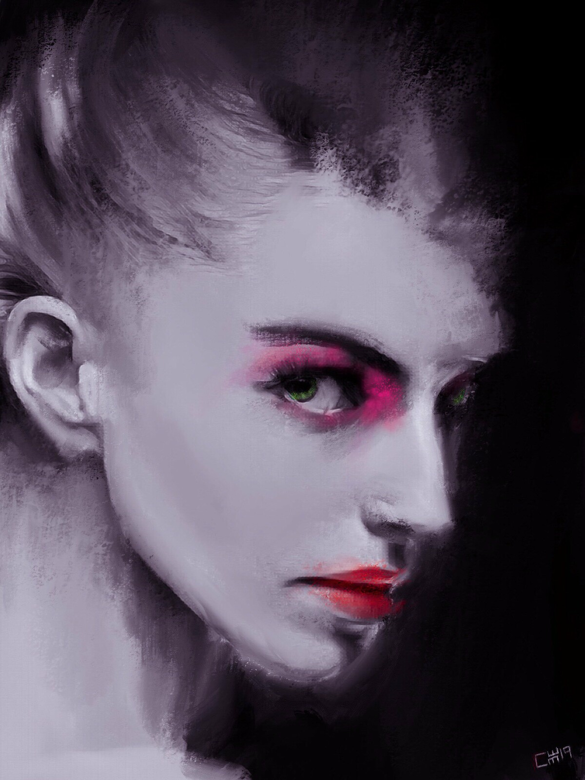 Digital Portrait Study