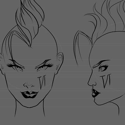 Sophie elisabeth martinez nightingale vi sketch face