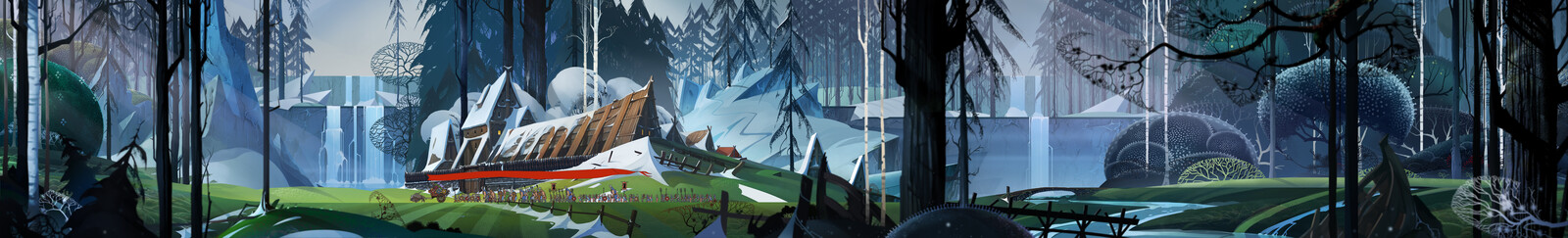 The Banner Saga art-test