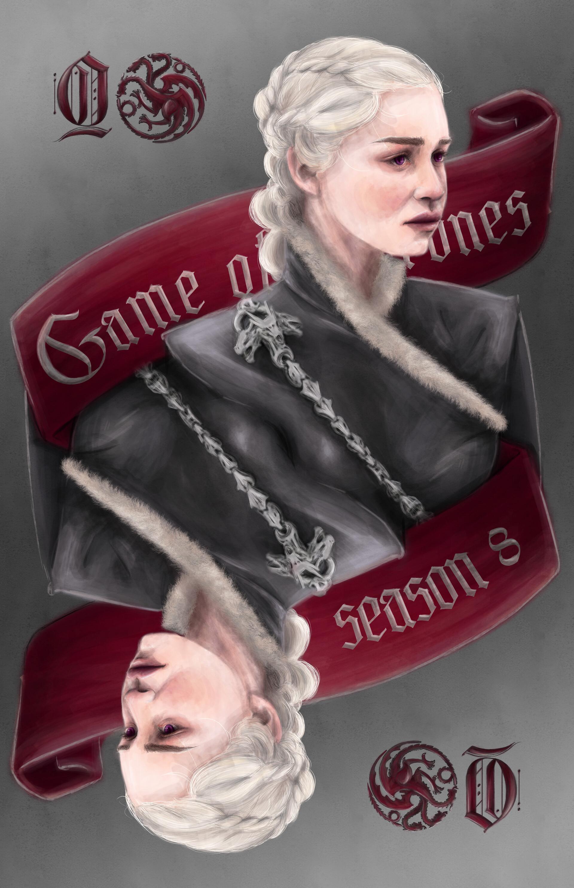 Alecs ganoria daenerys targaryen poster png