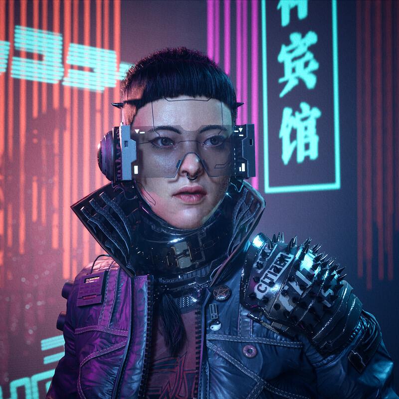 Sai Zhang Cyberpunk