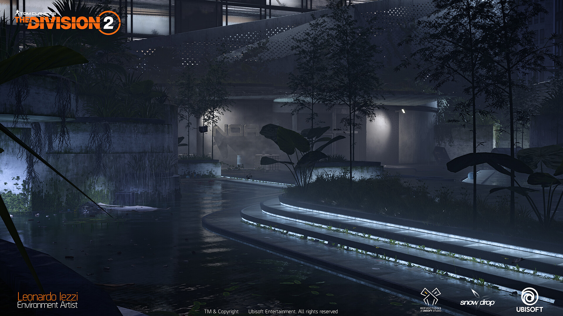 Leonardo iezzi leonardo iezzi the division 2 environment art 01 plaza 002