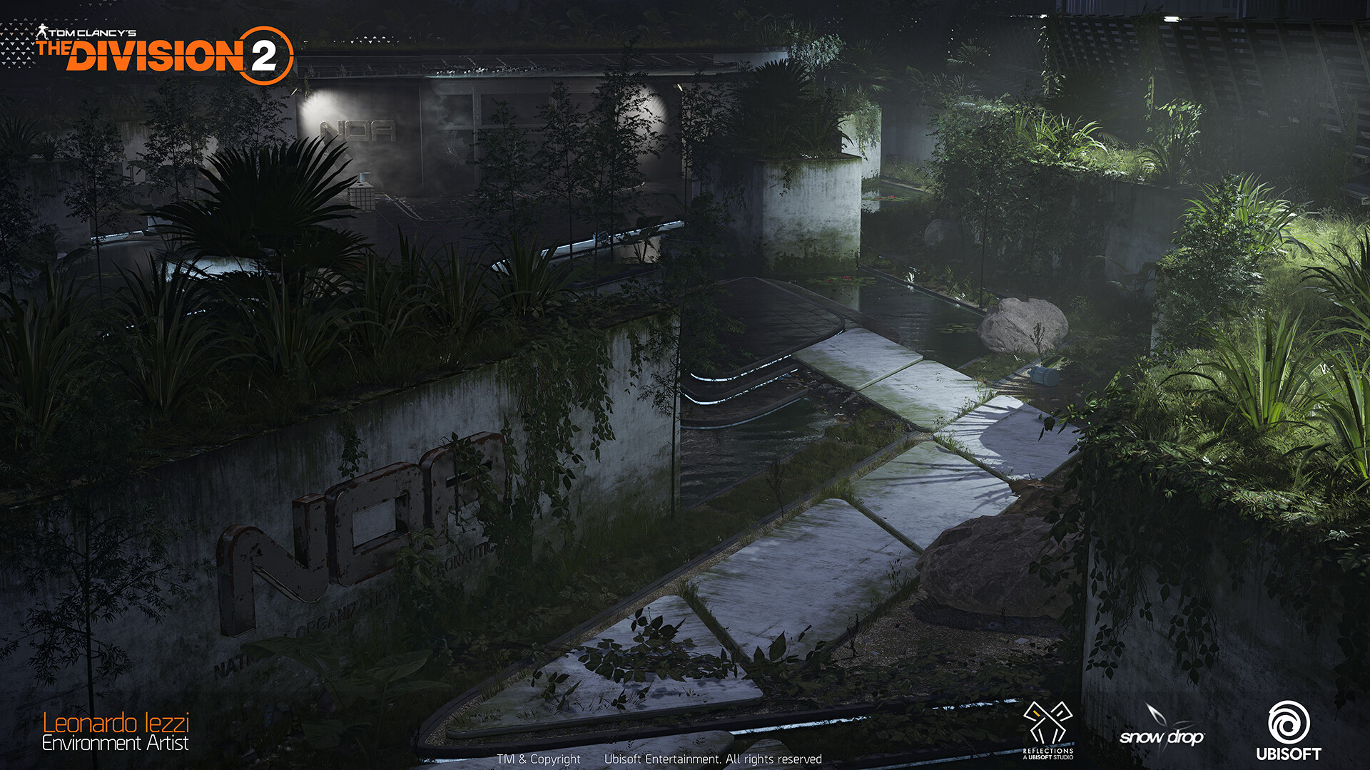 Leonardo iezzi leonardo iezzi the division 2 environment art 01 plaza 004