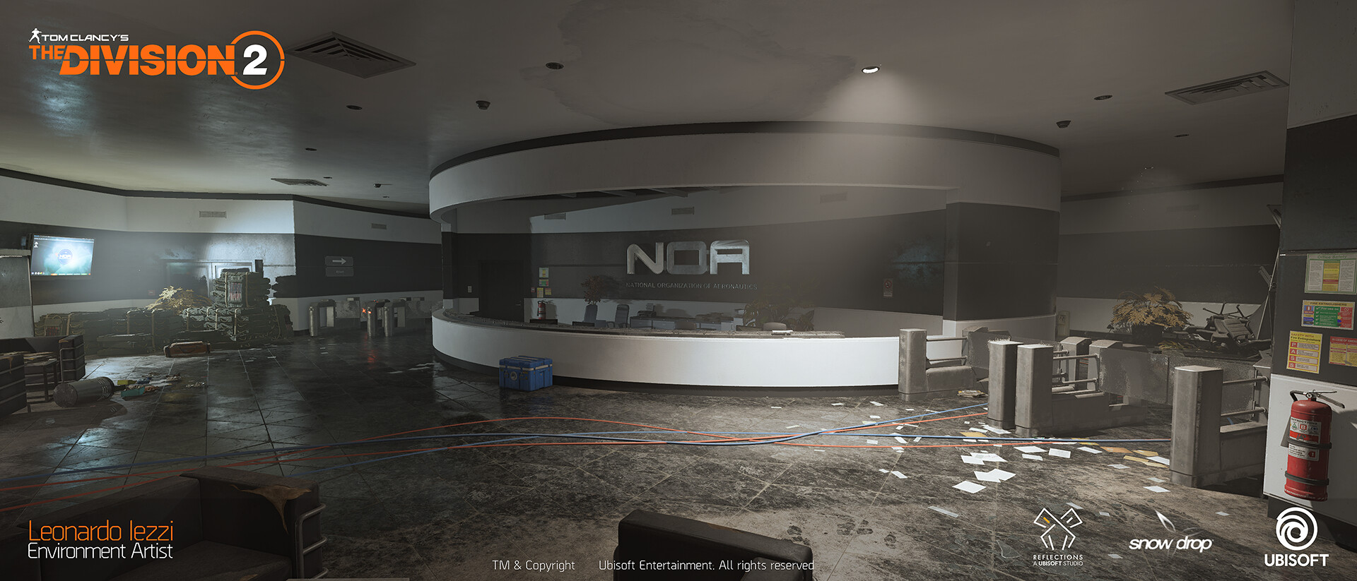 Leonardo iezzi leonardo iezzi the division 2 environment art 02 atrium 014 wide