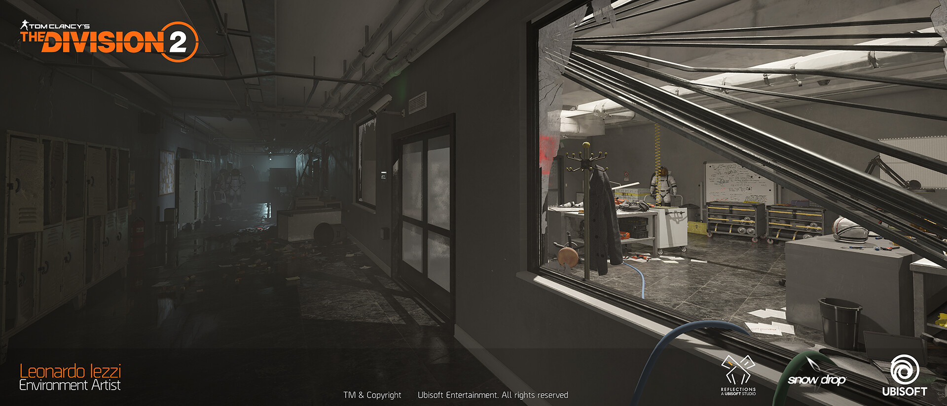 Leonardo iezzi leonardo iezzi the division 2 environment art 05 lab 010 wide