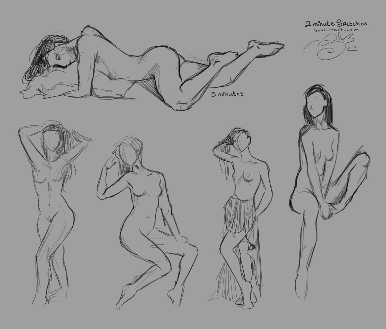 Figure Drawing | Croquis Café 1