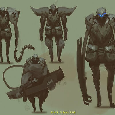 Benedick bana character design sheet final