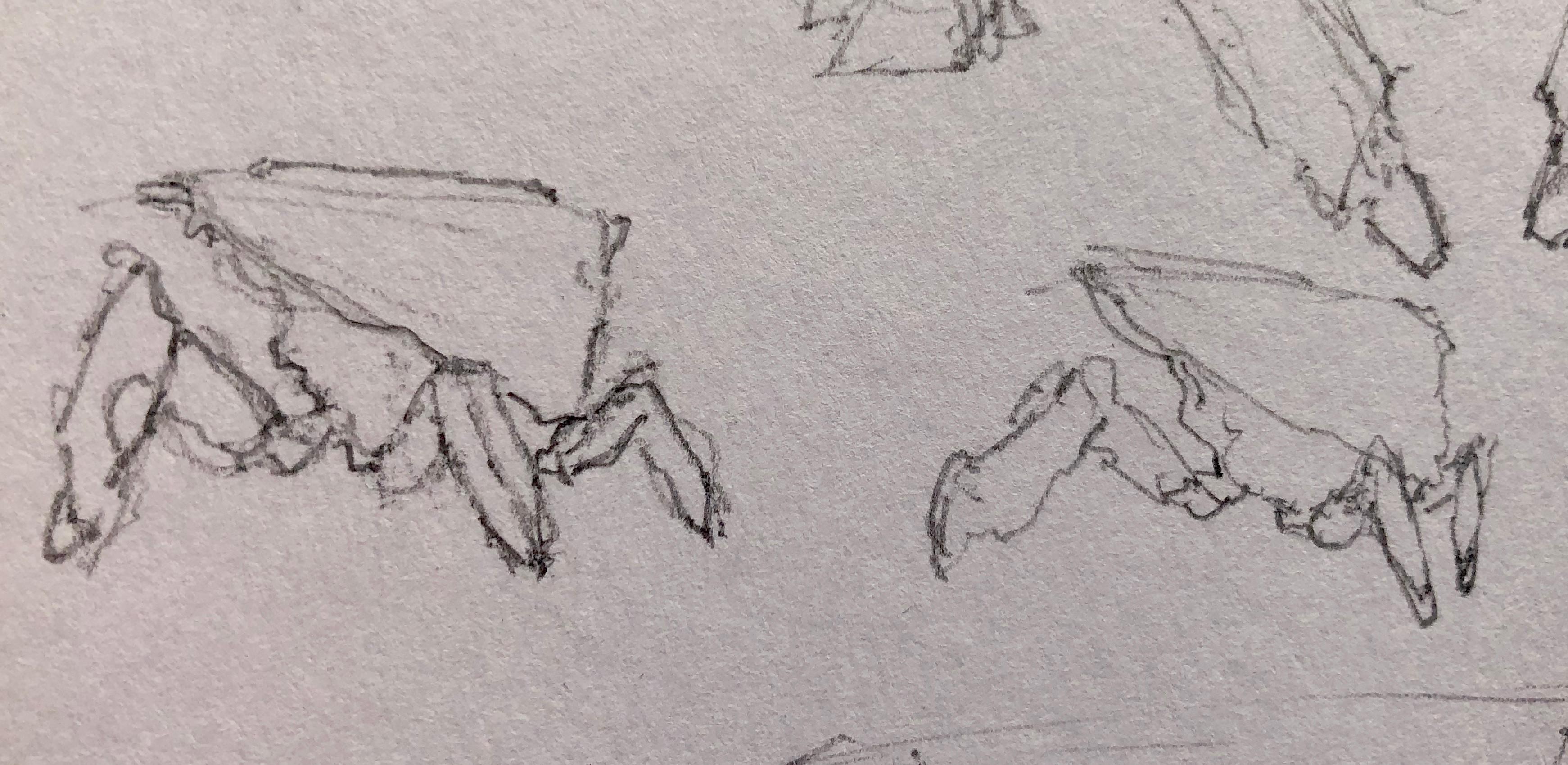Initial sketchy sketch idea