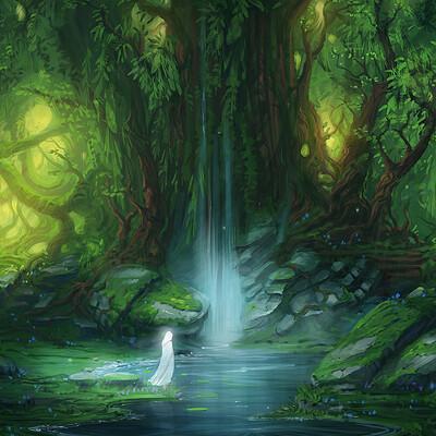 Jorge jacinto enchanted lake remasteredred
