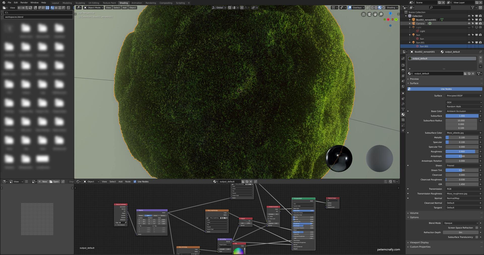 ArtStation - Free seamless PBR Moss Material!, Pete Mc Nally