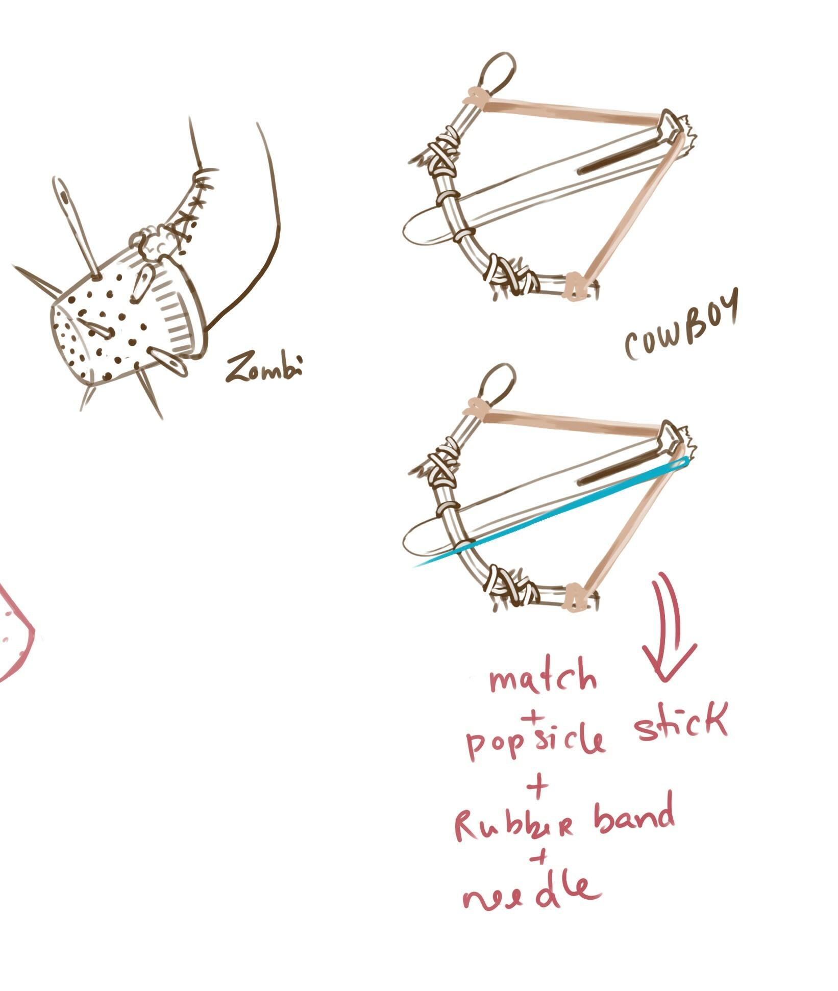 Jean medrick piche weapons