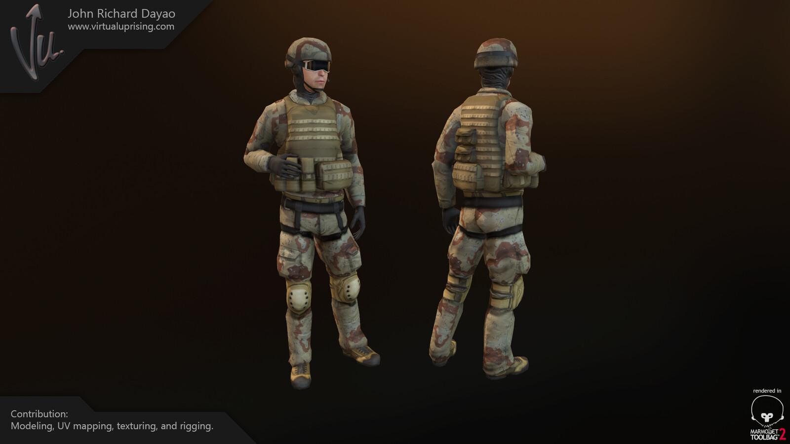 Airforce Infantryman