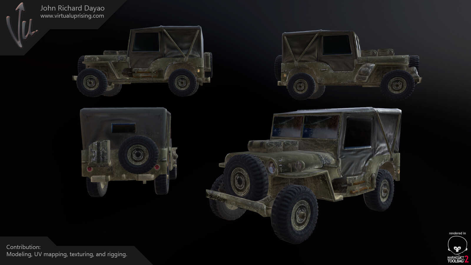 Jeep and Howitzer