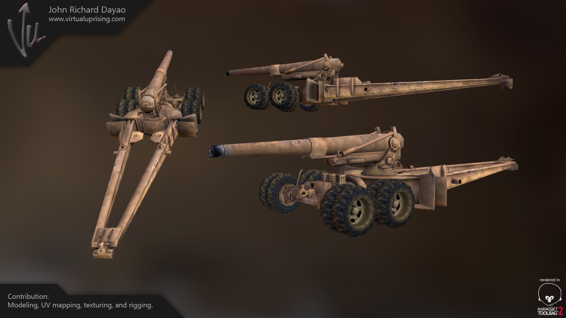 John richard dayao m115 howitzer
