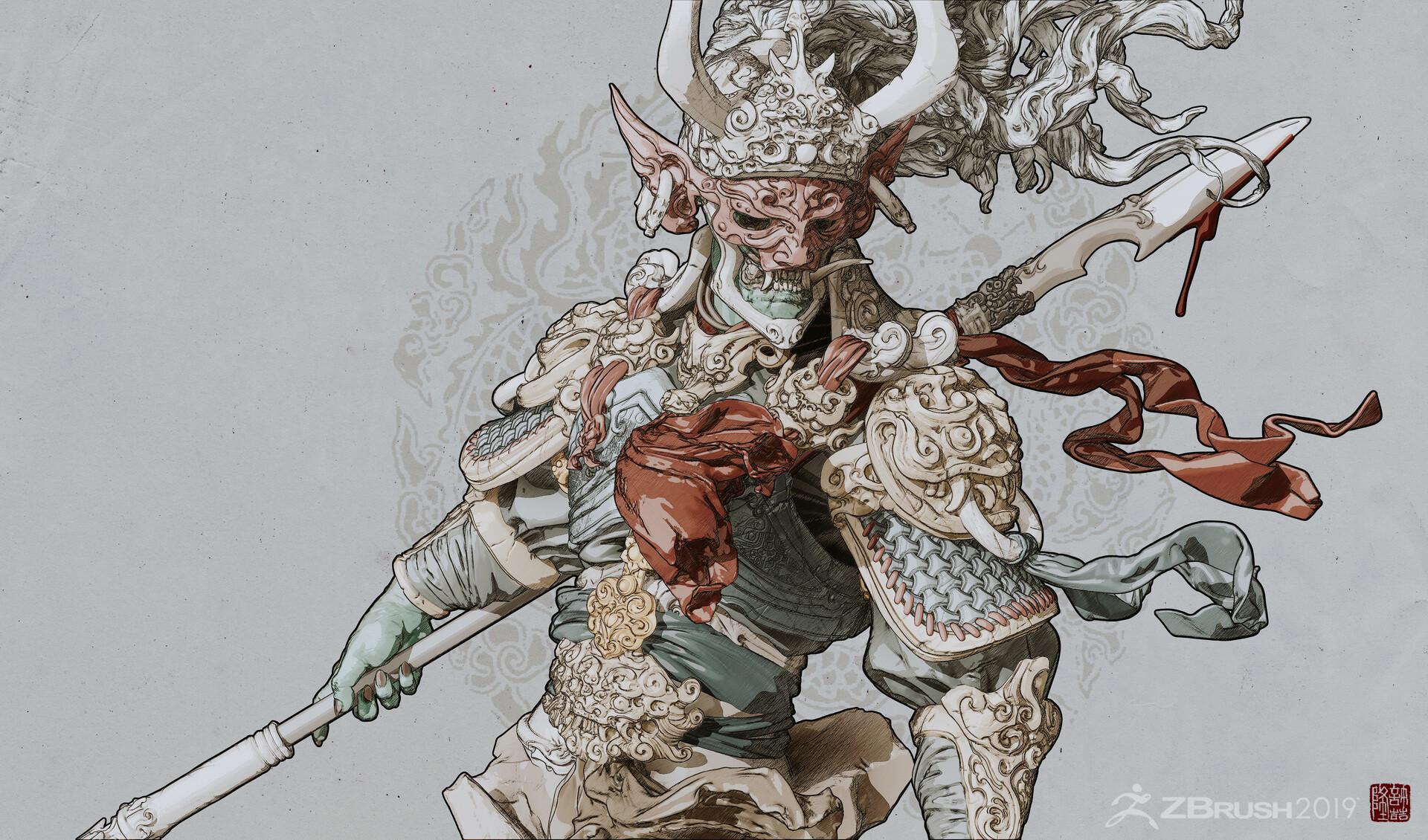 Zhelong xu warrior01