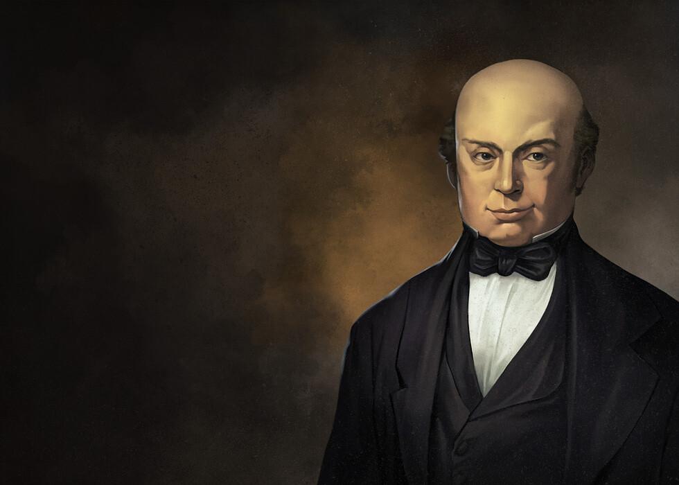 Nathan Rothschild Portrait