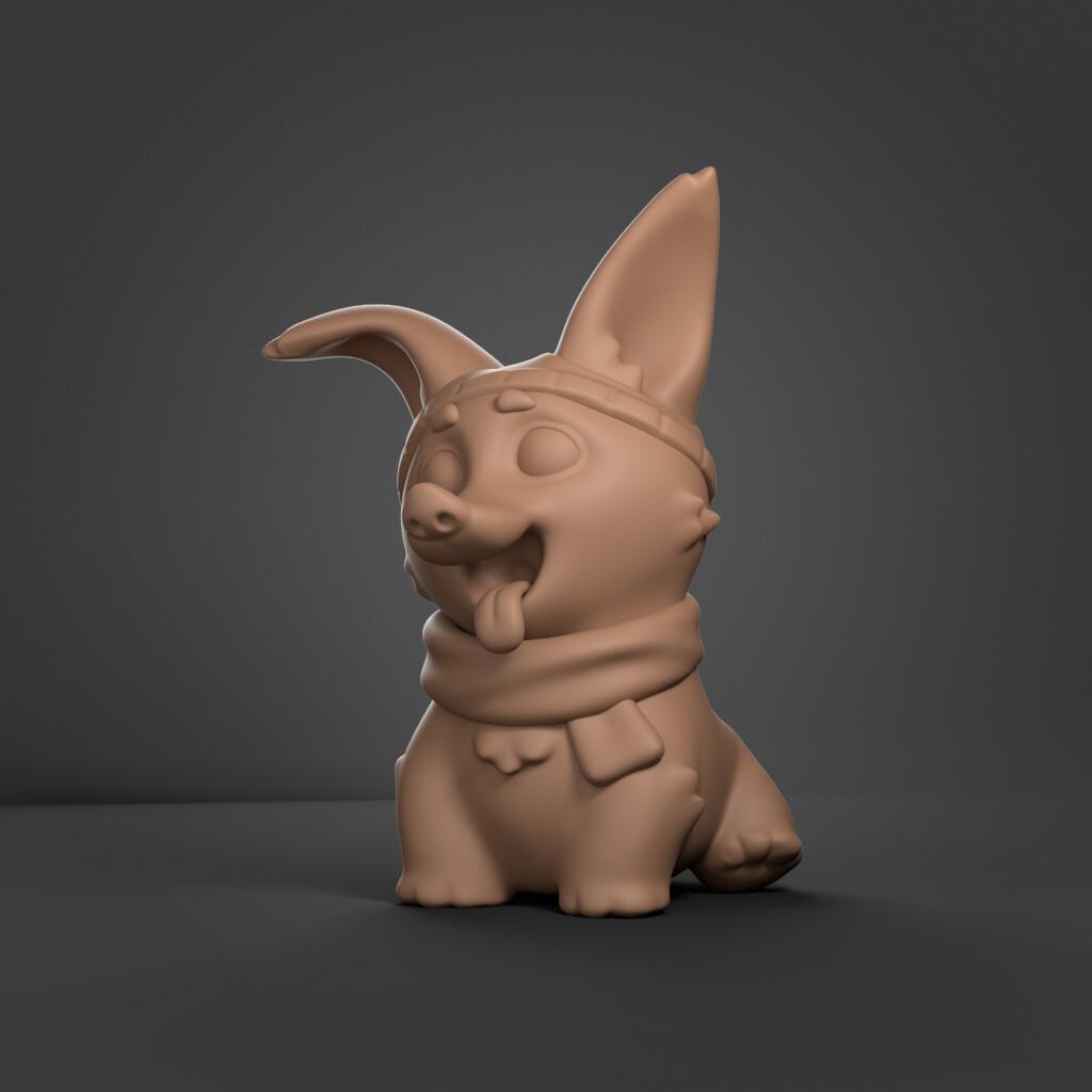 Conrx fay doggo clay