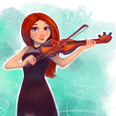 Deniz undan violin player square3