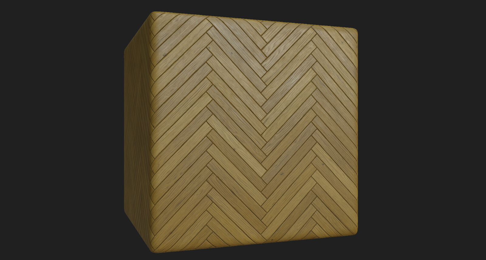 Wood herringbone